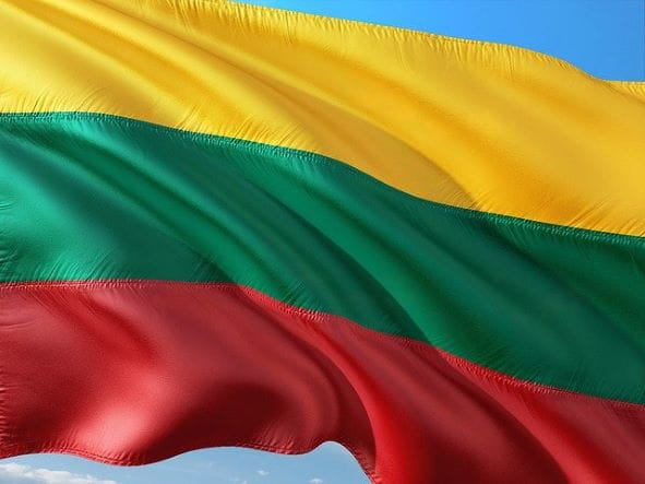 Bendera Lituania.