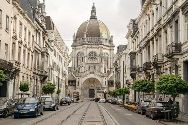 Gereja Kerajaan Saint Mary, Brussel.