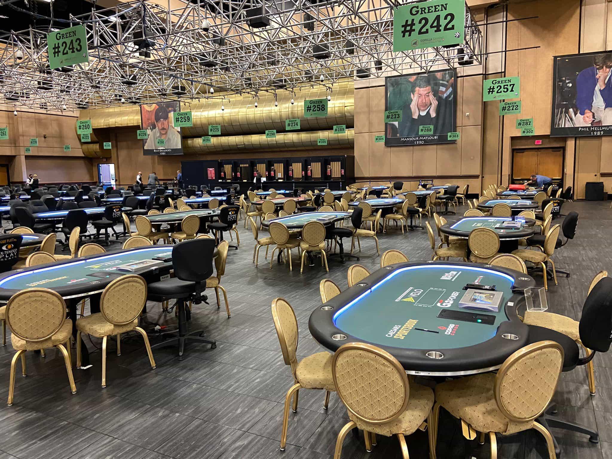 Seri meja Poker Dunia siap beraksi