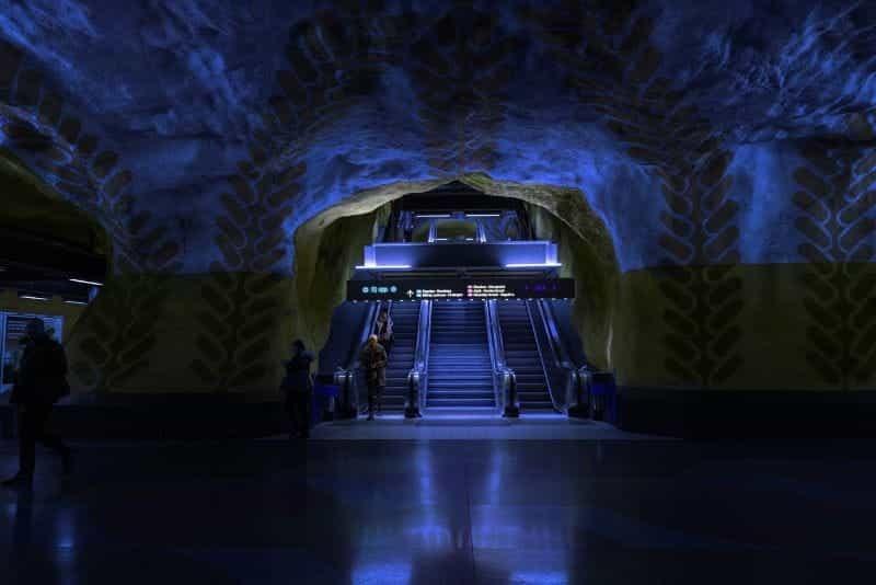 Stasiun Metro Stockholm.